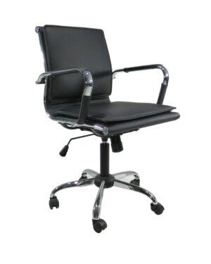 Cadeira Gerente Esteirinha Soft Preto