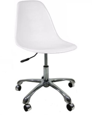 Cadeira Eames Dkr Office Branco