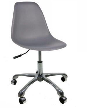 Cadeira Eames Dkr Office Cinza