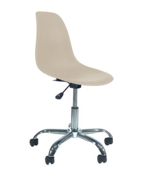Cadeira Eames Dkr Office Nude