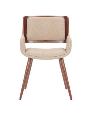 Cadeira Bavaria Bege