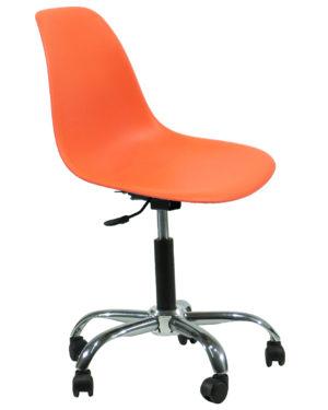 Cadeira Eames Dkr Office Laranja