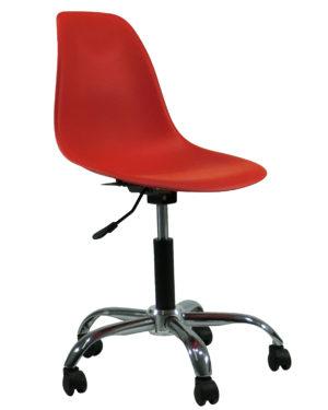 Cadeira Eames Dkr Office Vermelho