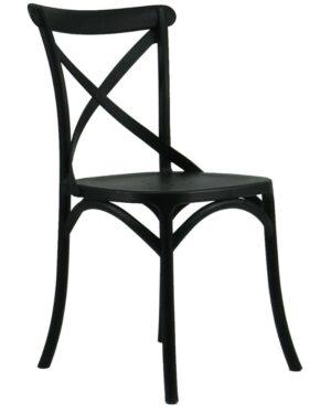 Cadeira Cross Preto