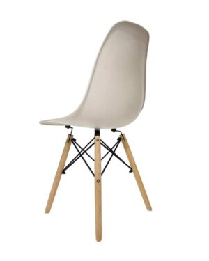 Cadeira Eames Dkr Wood Nude
