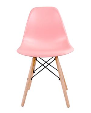 Cadeira Eames Dkr Wood Rosa