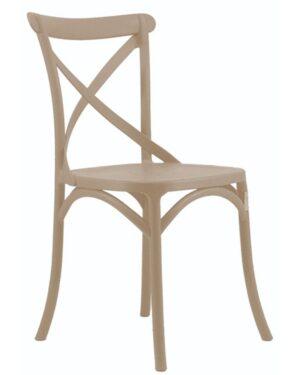 Cadeira Cross Nude