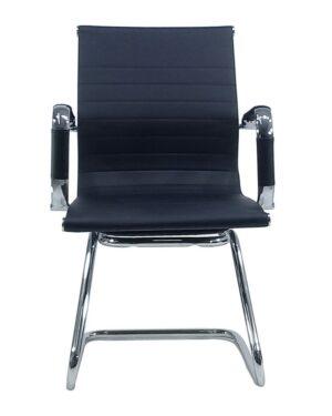 Cadeira Gerente Esteirinha Fixa Preto