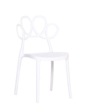 Cadeira Laço Branco
