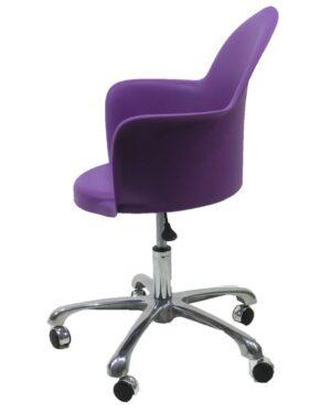Cadeira Gogo Office Purpura Padrão Vivo