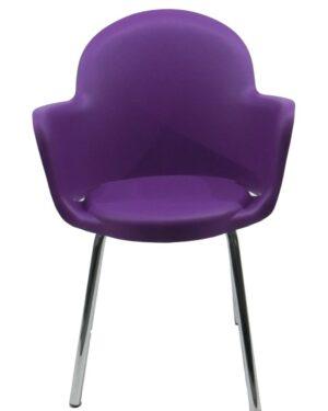 Cadeira Gogo Purpura Fixa Padrão Vivo