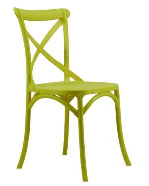 Cadeira Cross Amarelo
