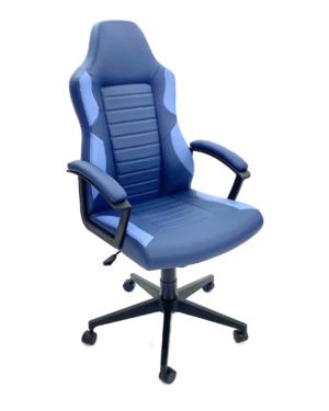 Cadeira Gamer Azul Escuro com Azul Claro