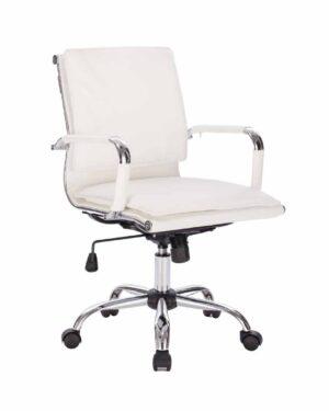 Cadeira Gerente Esteirinha Soft Branco