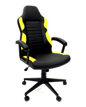 Cadeira Gamer Preto e Amarelo