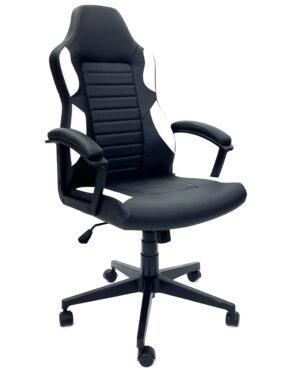 Cadeira Gamer Preto e Branco