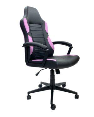 Cadeira Gamer Preto e Lilás