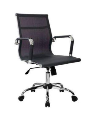 Cadeira Gerente Esteirinha Tela Preto