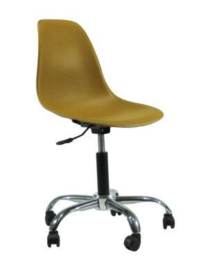 Cadeira Eames Dkr Office Caramelo