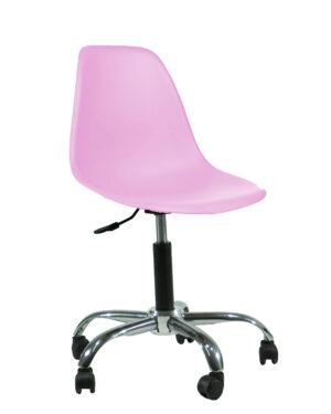 Cadeira Eames Dkr Office Rosa