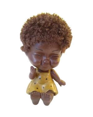Cofre Bebê Vestido Amarelo
