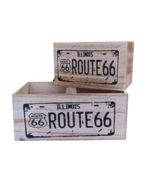 Conjunto de Caixas Route 66