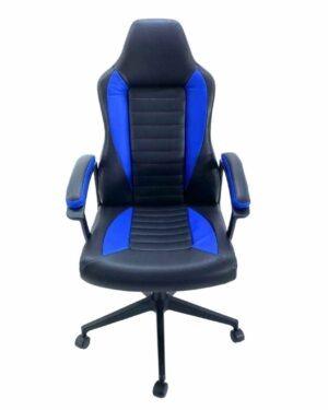 Cadeira Sniper Preto e Azul