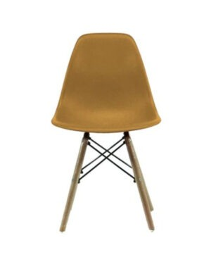 Cadeira Eames Dkr Wood Caramelo