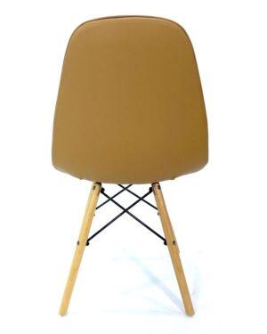 Cadeira Eames Dkr Botonê Wood Caramelo