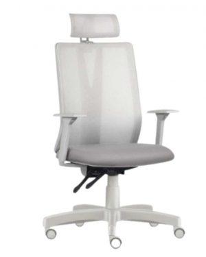 Cadeira Verona Presidente Cinza