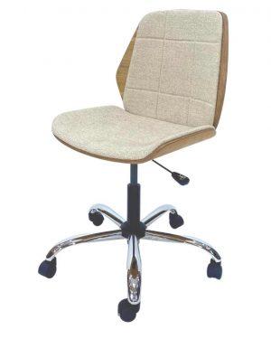 Cadeira Secretária May Bege