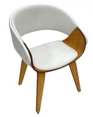 Cadeira Fama Wood Branco