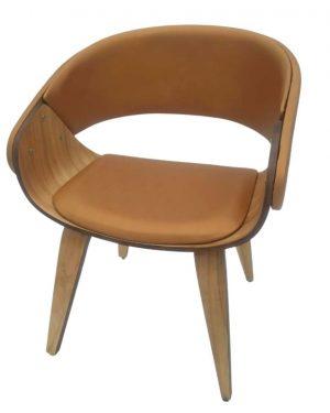 Cadeira Fama Wood Cobre